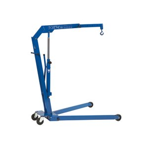HYDRAULIC WORKSHOP CRANE 1.1 T CAPACITY