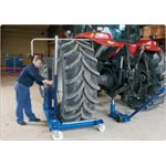 AC HYDRAULIC AGRICULTURAL MECHANICAL WHEEL TROLLEY — 1.5 TON